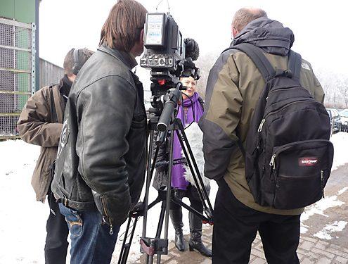 Dreharbeiten 10.3.2010 für